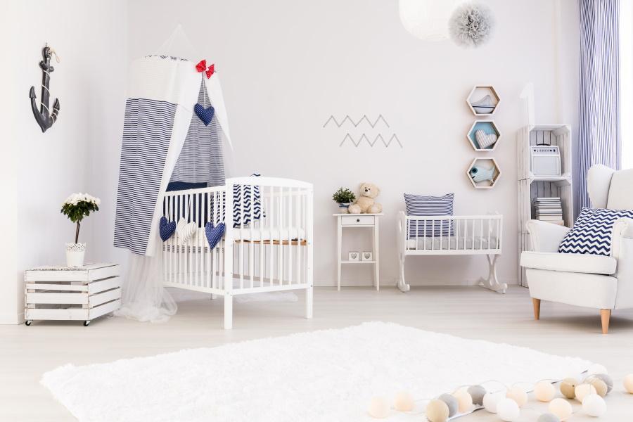 Chambre de bébé pour garçon