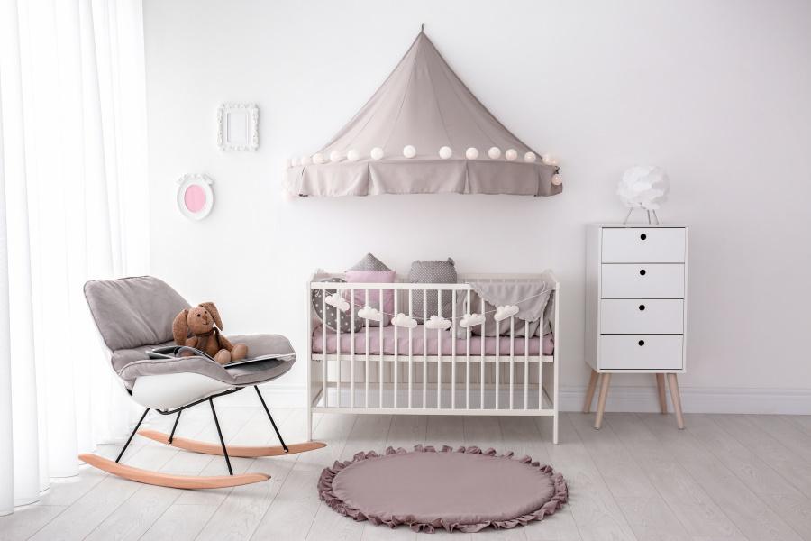 aménagement de chambre de bébé