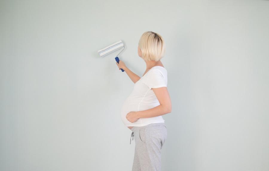 les travaux de la chambre pour bébé